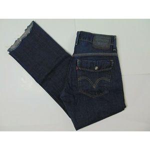 Levi's 514 31 X 32 Slim Straight Blue Jeans Denim